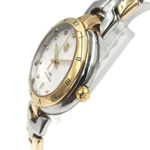 TAG Heuer Link Steel Gold Two Tone Swiss Automatic Ladies Watch WAT2350.BB0957