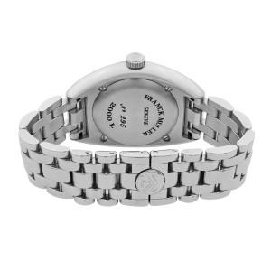 Franck Muller Transamerica Steel Blue Guilloche Dial Quartz Ladies Watch 2000L