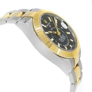 Rolex Sky-Dweller 326933 bk Steel & 18K Yellow Gold Automatic Men's Watch