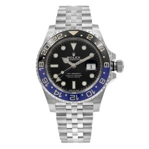 Rolex GMT-Master II Batgirl Ceramic Steel Jubilee Bracelet Watch 126710BLNR