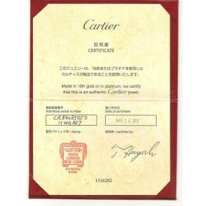 Cartier Mini Love 18k Yellow Gold 3.5mm Band Ring Size EU 50-US 5.25 Cert
