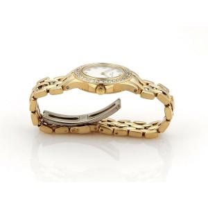 50502 Patek Philippe Neptune 1ct Diamonds 18k Yellow Gold Date Ladies Watch