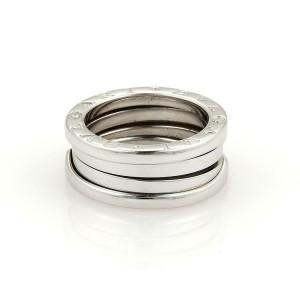 Bulgari Bvlgari B Zero-1 18k White Gold 8mm Band Ring Size EU 50-US 5