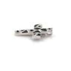 Roberto Coin Panda Onyx & Diamonds 18k White Gold Cross Pendant