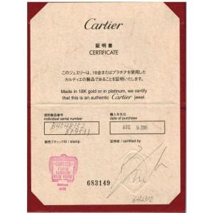 Cartier Lanier Platinum 3mm Band Ring Size EU 52 - US 6 w/Certificate