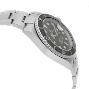 Rolex Submariner Date Steel Ceramic Bezel Black Dial Automatic Mens Watch 116610