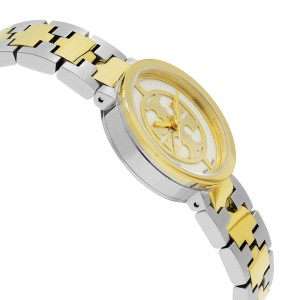 Tory Burch Reva Two Tone Stainless Steel Quartz Ladies Watch TRB4016