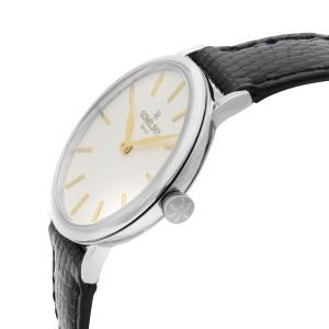 Gomelsky Agnes Varis Steel White Dial Quartz Ladies Watch G0120072631