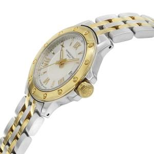 Raymond Weil Tango Two Tone Steel Silver Dial Quartz Ladies Watch 5399-STP-00657