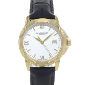 Raymond Weil Tradition White Roman Dial Steel Quartz Ladies Watch 5376-P-00307