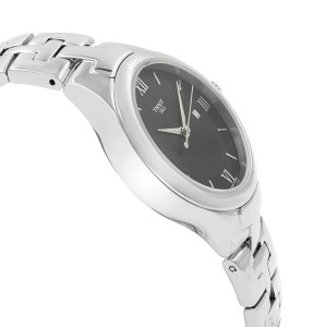Tissot T12 Black Sunray Dial Steel Quartz Ladies Watch T082.210.11.058.00