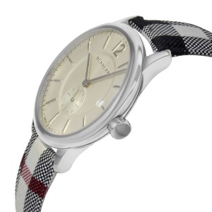 Burberry The Classic Round Silver Dial Steel Quartz Unisex Watch BU10002