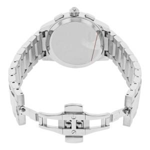 Tory Burch Collins Cream Dial Chronograph Steel Quartz Ladies Watch TB1252