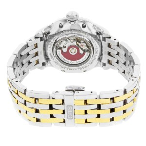 Oris Artelier Two Tone Stainless Steel Automatic Ladies Watch 561-7604-4351MB