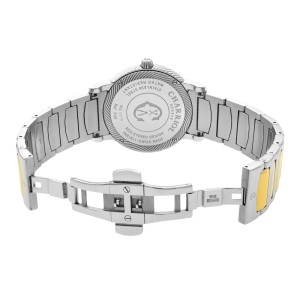Charriol Parisii Two Tone Steel Silver Dial Quartz Unisex Watch P40SY2.931.001