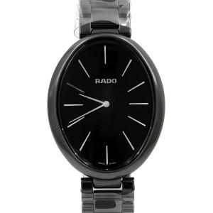 Rado Esenza Touch Black Dial Ladies Ceramic Quartz Watch R53093152