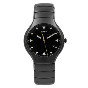 Rado True Ceramic Black Dial Mens Quartz Watch R27816162