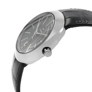 Rado D-Star Ceramic Leather Strap Date Automatic Black Dial Mens Watch R15760155