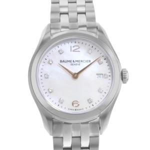 Baume & Mercier Clifton MOA10176 Stainless Steel Quartz Ladies Watch
