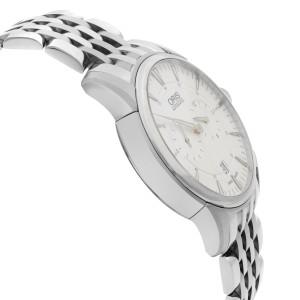 Oris Artelier Regulateur Steel Silver Dial Men Watch 01 749 7667 4051-07 8 21 77