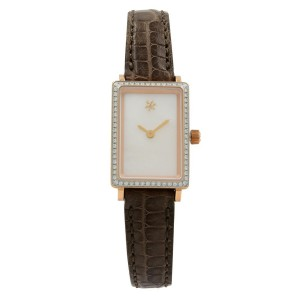 Gomelsky Shirley Fromer Steel Mother of Pearl Dial Womens Watch G0120047035