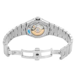 Omega Constellation Silver Diamond White Gold Ladies Watch 123.55.31.20.55.003