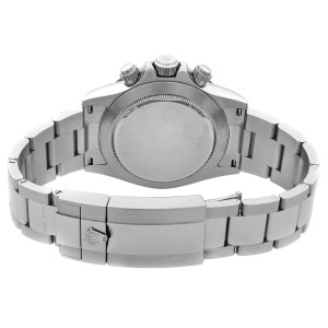 Rolex Cosmograph Daytona Ceramic Steel White Dial Automatic Mens Watch 116500LN