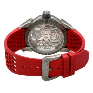 Jacob & Co. Epic X Red Titanium Hand-Wind Mens Watch EX100.20.NS.OX.A