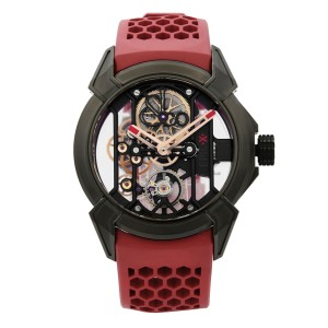 Jacob & Co. Epic X Titanium Skeleton Hand-Wind Mens Watch EX100.21.NS.PX.A