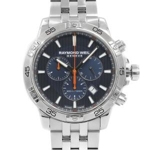 Raymond Weil Tango 300 Steel Chrono Blue Dial  Quartz Mens Watch 8560-ST2-50001