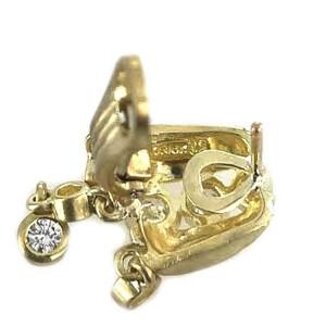 Judith Ripka 1.00ct Diamond 18k Yellow Gold Huggie Dangle Earrings