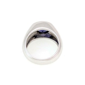 Tiffany & Co. Iolite 18k Yellow Gold Solitaire Ring Size 6
