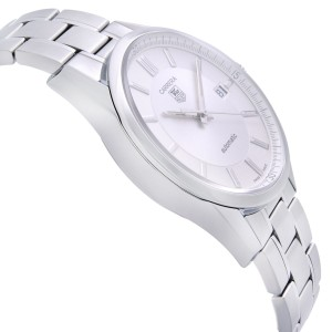 TAG Heuer Carrera 39mm Steel Silver Dial Automatic Mens Watch WV211A.BA0787