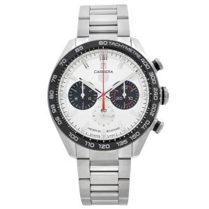 Tag Heuer Carrera 160 years LTD Edition Steel Silver Dial Watch CBN2A1B.BA0643