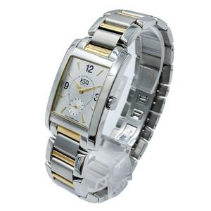 ESQ Swiss Venture Stainless Steel Bracelet  Mens Watch 7300674