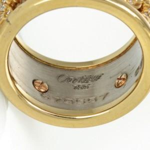 Cartier 18K Yellow Gold Diamond Elephant Ring 2.50cttw Size 5.5