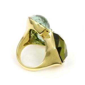 Ippolita Rock Candy Topaz 3 Stone 18k Yellow Gold Ring 7.5