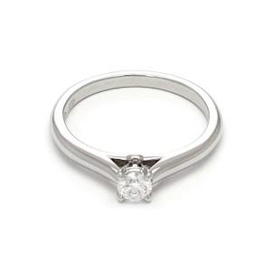 Cartier Round Diamond Platinum Engagement Ring Size 49-US 5 Cert & GIA