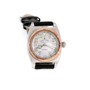 Rolex Oyster Viceroy Vintage 14k Rose Gold Steel Handwind Wrist Watch 3359