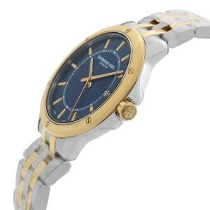 Raymond Weil Tango Two-Tone Steel Blue Dial Quartz Mens Watch 5591-STP-50001