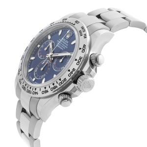 Rolex Cosmograph Daytona 40mm 18K White Gold Blue Dial Mens Watch 116509BLSO