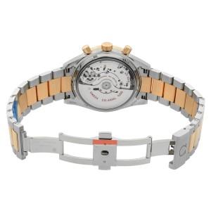Omega Speedmaster 57 18k Rose Gold Steel Black Dial Watch 331.20.42.51.01.002