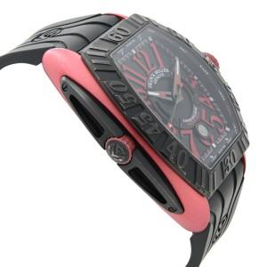 Franck Muller Conquistador Grand Prix Titanium Black Dial Watch 8900 SC DT GPG