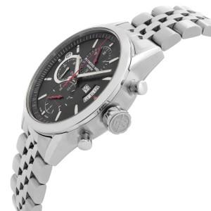 Raymond Weil Freelancer 42mm Steel Black Dial Automatic Mens Watch 7730-ST-20041