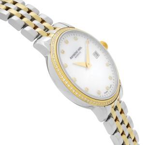 Raymond Weil Toccata Two-Tone Steel MOP Dial Quartz Ladies Watch 5988-SPS-97081