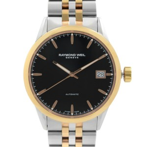 Raymond Weil Freelancer Steel Black Dial Automatic Mens Watch 2740-SP5-20011