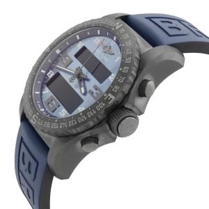 Breitling B50 Cockpit Titanium Blue MOP Dial Watch VB501019/C932-261S