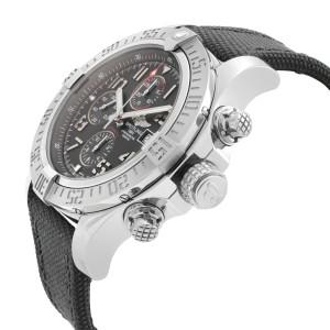 Breitling Super Avenger II Steel Black Dial Mens Watch A1337111/BC28