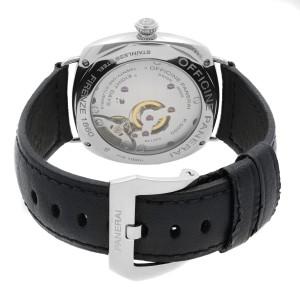 Panerai Radiomir 8 Days Stainless Steel Black Dial Hand Wind Mens Watch PAM00610