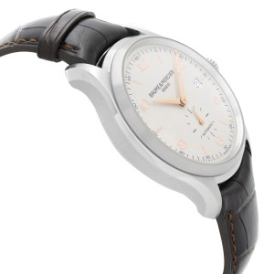 Baume & Mercier Clifton 41mm Steel Silver Dial Automatic Mens Watch M0A10054